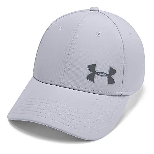 Under Armour Men Men's Golf Headline 3.0 Classic Baseball, Sports Cap, (Mod Gray/Pitch Gray (012), X-Large
