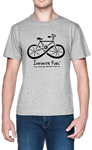 Infinite Fuel Blanca Hombre Camiseta Grey Men's T-Shirt tee