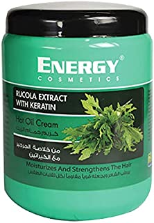 Energy Cosmetics Rucola Extract Hot Oil Cream with Keratin, 500ml