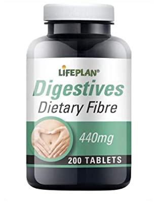 Lifeplan Fibre 440mg 200 Tablets