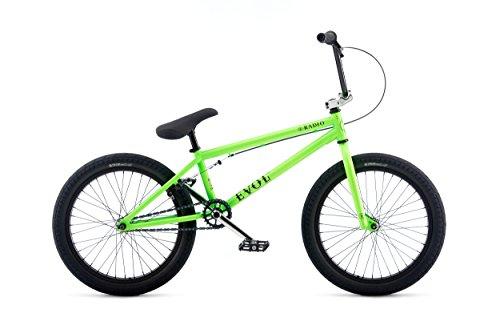 RADIO BIKES Evol - Bicicletta BMX, da 20,3', Unisex Adulto, Evol, Verde, 20.3'