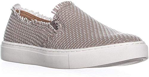 Indigo Rd. Womens Kicky Low Top Slip On Fashion Sneakers, Pearl, Size 8.5