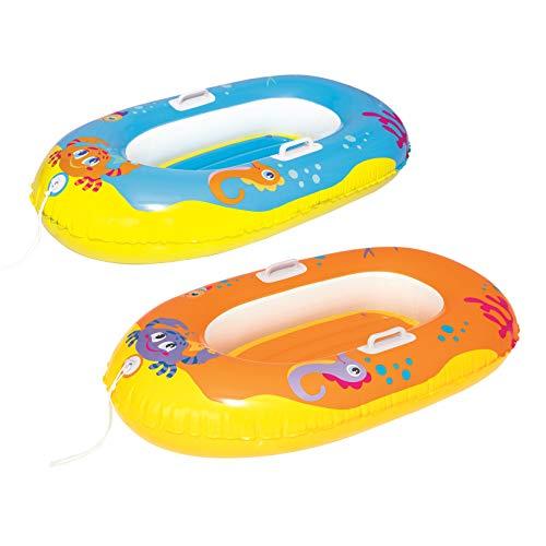 Bestway Happy Crustacean Junior Boat 135x89 cm, Kinderboot, sortiert