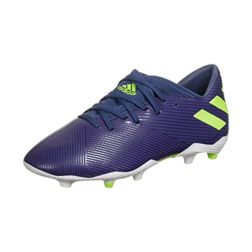 Adidas Nemeziz Messi 19.3 FG J,  Zapatillas Deportivas Fútbol Unisex Infantil,  Morado (Tech Indigo/Signal Green/Glory Purple),  36 EU