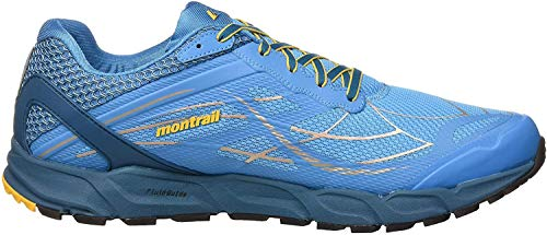 Columbia Caldorado III, Scarpe da Trail Running Uomo, Blu (Riptide, Honey Yellow 463), 40.5 EU
