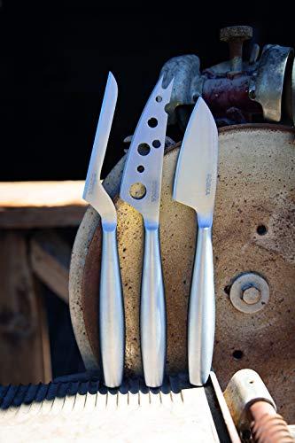BOSKA 357615 3pc Set Copenhagen, Stainless Steel, Explore Collection Cheese Knife