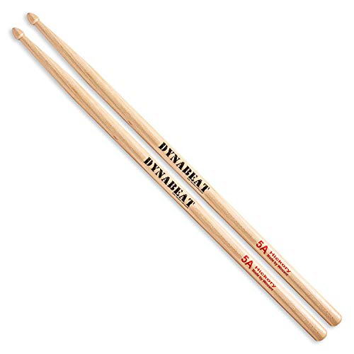 Wincent 5A - Hickory (Dynabeat) - Baquetas, batería Dynabeat 5A, Budget Series