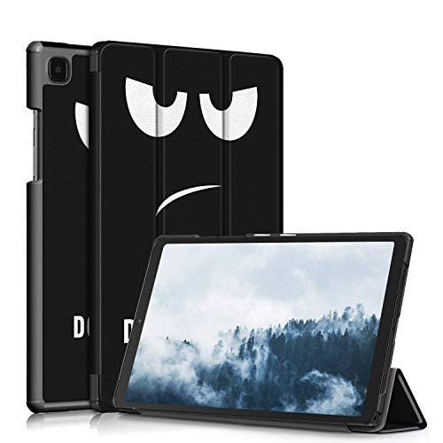 topCASE Funda para Samsung Galaxy Tab A7 10,4 pulgadas 2020 SM-T500/SM-T505/SM-T507 Ultra-fina con función soporte, Don't Touch