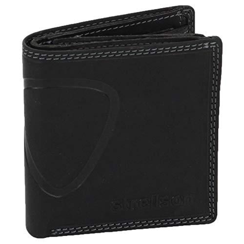 Strellson Baker Street Billfold Q7 4010000047 Herren Geldbörsen 9.5 x 10 x 2.5 cm (B x H x T), Schwarz (black 900)
