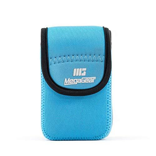 MegaGear MG796 Ultraleichte Kameratasche aus Neopren kompatibel mit Olympus Tough TG-6, TG-5, TG-870, TG-4, TG-860 - Blau