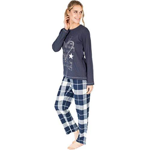 MASSANA - Pijama Mujer Invierno Life