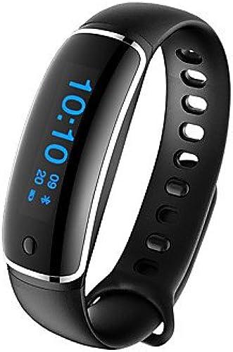 Meet Global Supermarket-Montres connectées@Nuodo s18 bracelet mohomme pour homme   smarwatch   activité   pédomètres   surveillance du rythme cardiaque   suivi de la distance , bleu