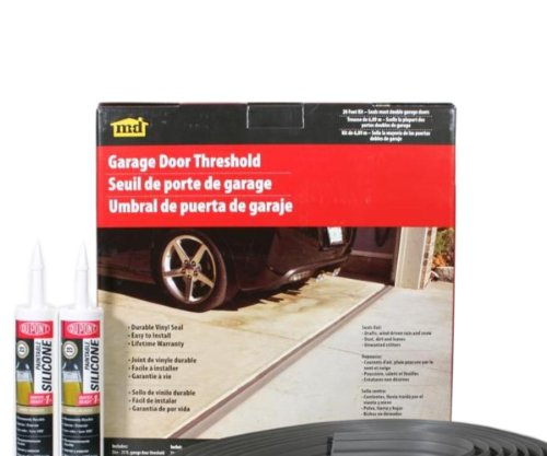 M-D Building Products 50101 Weather-Strip Garage Dr 20Ft Bl, Gray