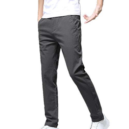 N\P Los hombres de la primavera pantalones casuales de los hombres pequeños pantalones rectos de los hombres de los deportes de