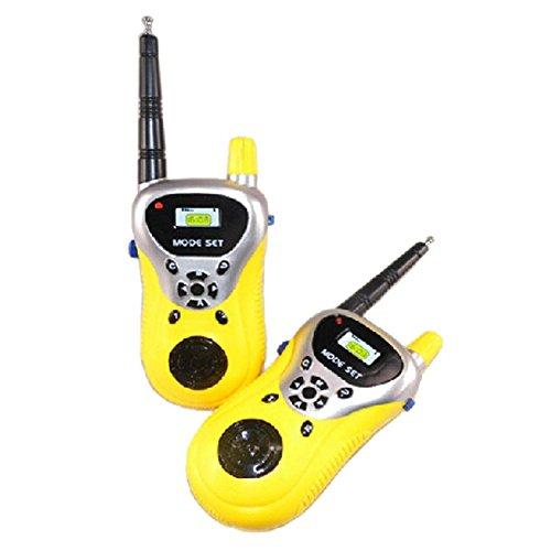 TOOGOO 2Pcs Walkie Talkie para ninos Juguetes electronicos portatiles radio de dos vias Set