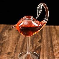 赤ワインゴブレットワインのカクテルメガネ180ml白鳥形ワイングラスガラスパーティーバースウェア飲み物