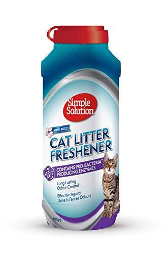 simple solution 0010279905609 simple solution 90560-4p Katzentoilette Erfrischer entfernt die Gerüche vollständig, und sorgt für einen frischen Duft.