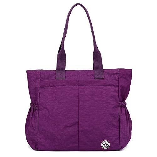 CVBGH Bolso de nylon casual, bolso de moda de gran capacidad, bolso de viaje