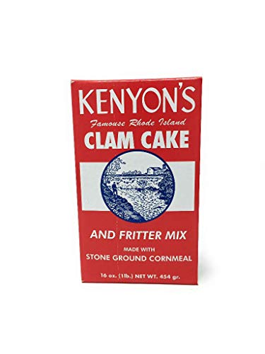 Kenyon Corn Meal Company, Mix Clam Cake And Fritter, 16 Ounce