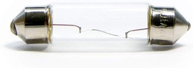 10 x 36 mm vrachtwagenlamp BUS gloeilamp SV8.5 T10 C5W S8.5 5W Soffitte 24V