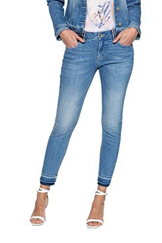 ATT, Amor Trust & Truth Damen Leoni Jeans, Blau, 40W / 27L