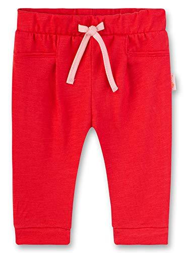Sanetta Hose Pantalon, Rouge (Fresh Strawberry 3904), 86 (Taille Fabricant: 086) Bébé Fille
