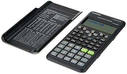 Casio FX-570ES Plus-2 - Calculadora Científica, 417 Funciones, 11 x 77 x 162 mm Negro