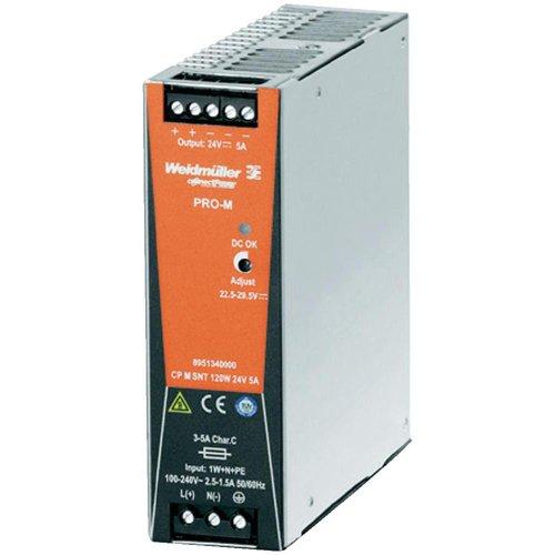 Weidmüller 8951340000 CP M SNT 120 W 24 V 5 A Fuente de alimentación