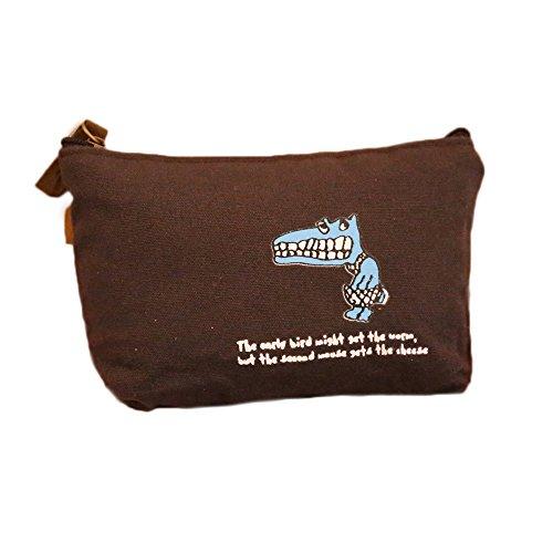 Fablcrew Sac cosmétique Épaissir Le Sac de Toile de Changement Sac cosmétique Multifonctionnel Sac de Rangement, Taille: 12cm * 9cm * 7cm