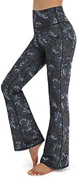 Promover Women's High Waist Bootcut Yoga Pants