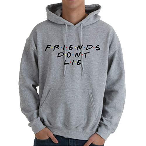 Desconocido Friends Dont Lie - Sudadera Hombre con Capucha
