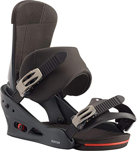 Burton Custom Snowboard Bindings Mens Sz M (8-11) Blue/Red