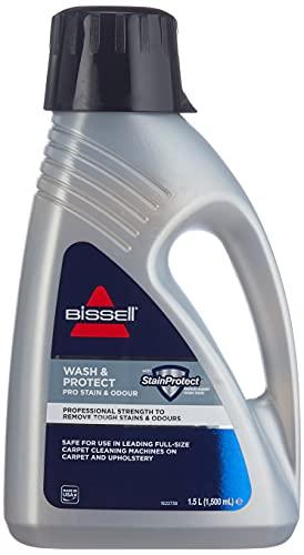 Bissell 1089N Wash & Protect Pro Reinigungsmittel für alle Teppichreiniger/Waschsauger, 1 x 1.5 l
