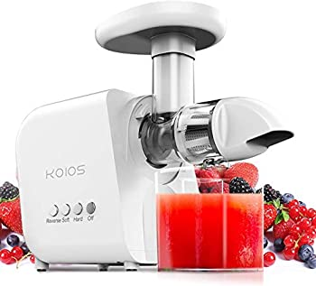 Koios 150 Watts Stainless Steel Slow Juice Extractor with Brush