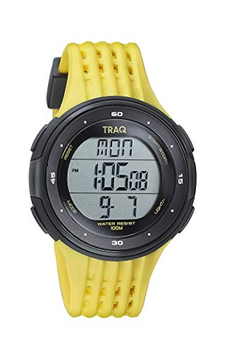 Traq Lite Digital Clear Dial Unisex-Adult Watch-75007PP04