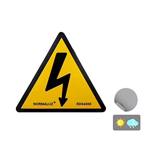 Normaluz RD64000 - Señal Adhesiva 10 Unidades...