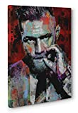 OneCanvas Conor McGregor Portrait Canvas Print Poster Photo Wall Art