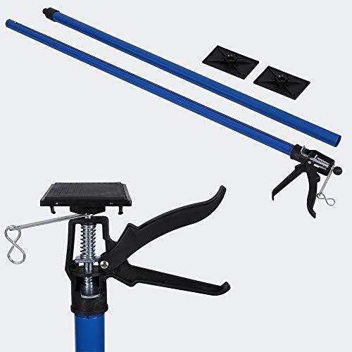 Deckenstütze Montagestütze Einhandstütze Schnellspann-Stütze Stahl 115-290cm bis 30kg