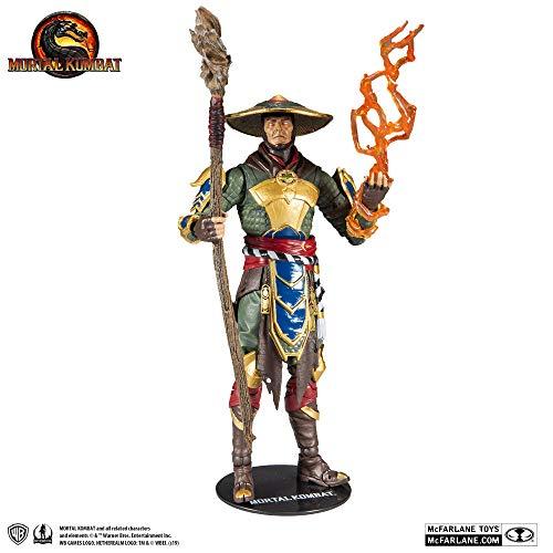 McFarlane Toys Mortal Kombat Raiden Figura de acción