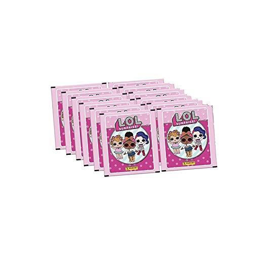 Kit Figurinhas Lol Surprise com 12 Envelopes - Panini