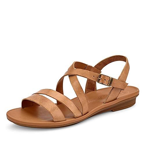 Paul Green Damen Sandalen Sandale beige Gr. 39