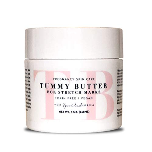 Tummy Butter Stretch Mark Prevention Cream - Safe for Pregnancy - C-Section Scar Lotion for Dry...