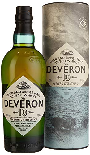 Glen Deveron 10 Jahre Highland Single Malt Scoutch Whisky (1 x 0.7 l)