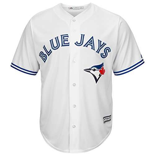 Majestic MLB Baseball Trikot Jersey Toronto Blue Jays Cool Base weiß (X-Large)