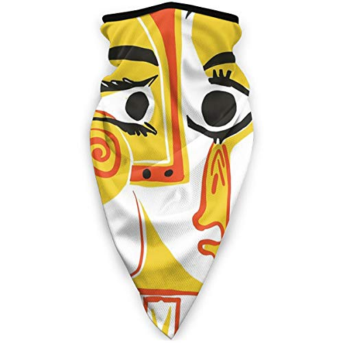 niet Picasso - Woman's Head #2 Gooi Kussen Winddicht Sportmasker Windshield Sport Masker.