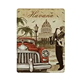 Cartel retro de la Habana (69) Cartel de cartel de pared de hojalata Cartel de pared de metal de hierro Decoración de pared de aluminio Placa de decoración Cafe Bar 30x40cm
