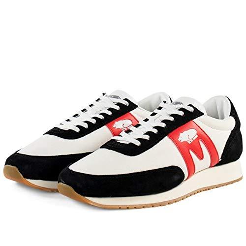 Karhu Albatross F807003 - Zapatillas deportivas para hombre, color negro y rojo Size: 43.5 EU