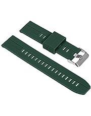 docooler Cinturino per Orologio in Silicone da 20 mm Sgancio Rapido con Fibbia Cinturino per Cinturino Traspirante Morbido Compatibile con Orologio Tradizionale/Intelligente da 20 mm