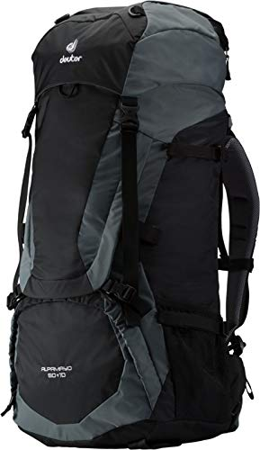 Deuter Intersport Alpamayo 60 + 10 Black-Titan - Caña de pe