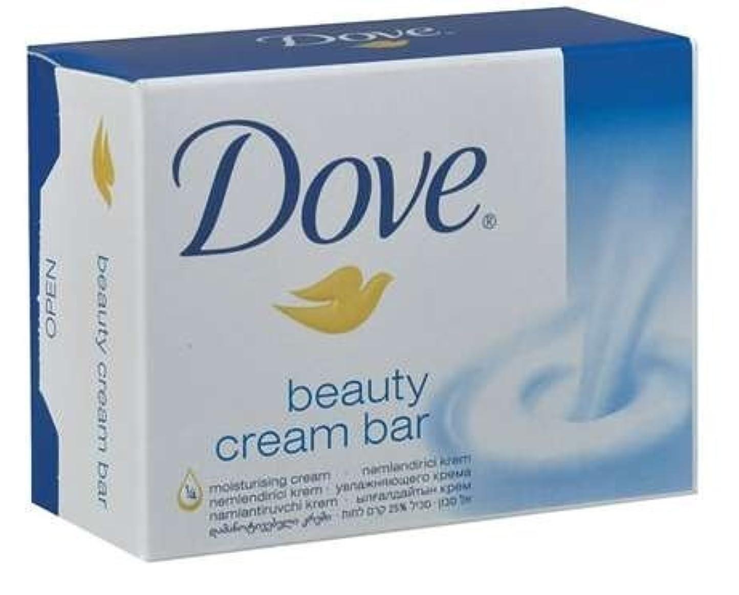 皿海賊安心させるDove Original Beauty Cream Bar White Soap 100 G / 3.5 Oz Bars (Pack of 12) by Dove [並行輸入品]